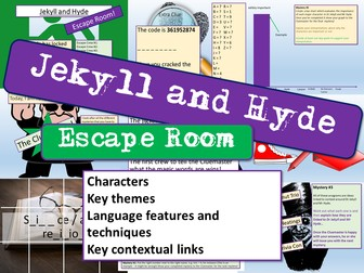 Jekyll and Hyde Escape Room