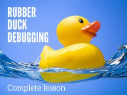 Rubber Duck Debugging
