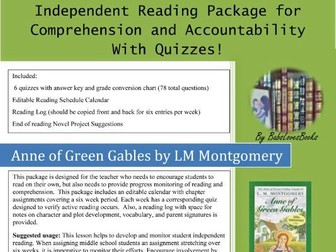Anne of green gables quiz