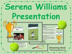 Serena Williams Presentation - Women's History Month