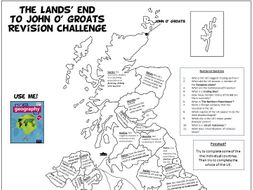 The Changing UK Economy A3 Revision Map