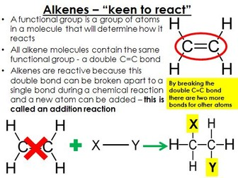 testing for alkene functional group An introduction to functional groups in functional group name general formula alkene r c c r' based on the functional group tests.