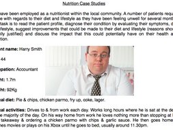 Nutrition case studies - Diet and disease