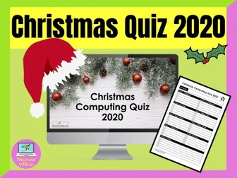Computing Christmas Quiz 2020