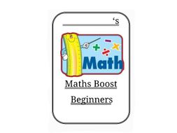 MATHS BOOST SUPPORT BOOKLETS
