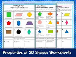 year 2 maths identifying properties of 2d shapes differentiated worksheets by. Black Bedroom Furniture Sets. Home Design Ideas