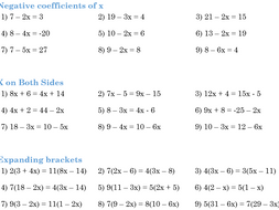 Solving Equations By Zlescrooge Teaching Resources Tes