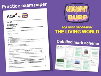 AQA GCSE Geography (9-1) - Practice Exam Paper - The Living World