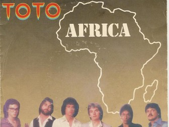 Africa by Toto Class performance pack and Powerpoint with accompanying work booklet