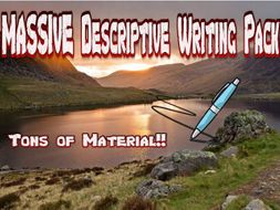 Massive Descriptive Writing Pack