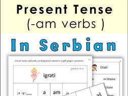 Serbian ( am verbs ) in Present Tense- Latin Alphabet