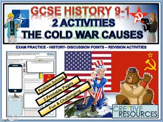 The Cold War Causes  - History
