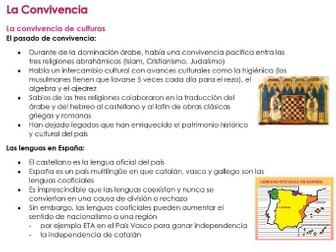 AQA La Convivencia NOTES for NEW SPANISH A LEVEL