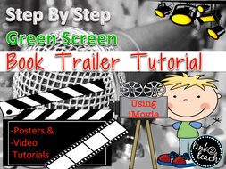 Green Screen Book Trailer Step-By-Step Tutorials