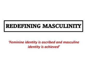 Assembly: Redefining Masculinity