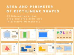 Area & Perimeter of Rectilinear Shapes - Year 4, Key stage 2