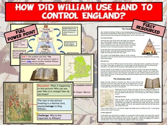 Normans - Feudal System and Domesday Book