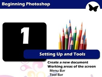 Beginning Photoshop - Setting Up And Tools