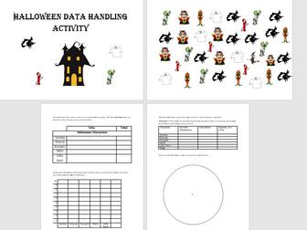 GCSE Maths/Functional Skills- Halloween Themed Handling Data Activity