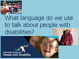 International Day of Disability Awareness Assembly - Language