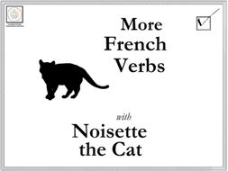 French: More French Verbs with Noisette the Cat