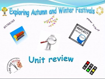 Exploring Festivals Unit Review