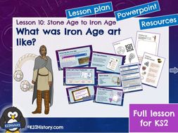 Iron Age Art (Lesson for KS2)