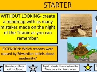 Titanic SOW