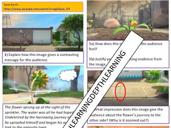 KS1 & KS2 Video Comprehension Environment PSHE