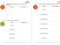 HELP ME (2) - SEEKING HELP workbooklet