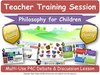 Teacher Training Session: P4C, Debates, Discussions, Critical Thinking,Pedagogy [Philosophy Boxes]