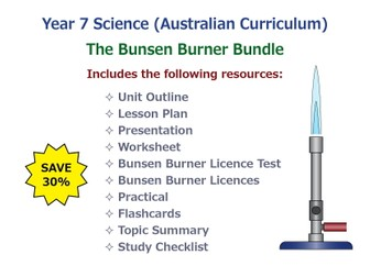 The Bunsen Burner [BUNDLE]
