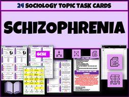 Schizophrenia Task Cards