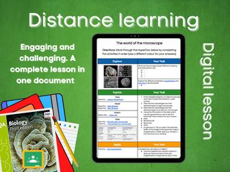 SB1.1 The World of the Microscope Distance Learning (AQA GCSE Bio)