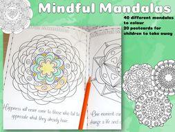 Mindful Mandalas for mindfulness colouring