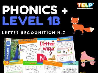 Phonics 1B - Introducing Letters Nn - Zz