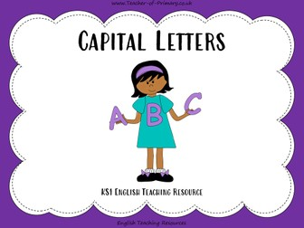 Capital Letters - Year 3/4