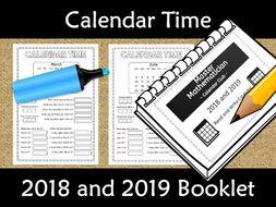 Calendar worksheet booklet 2018 and 2019 by kiwilander teaching calendar worksheet booklet 2018 and 2019 ibookread Download