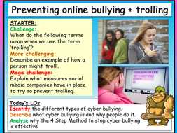 Trolling , Cyber Bullying - Online Safety