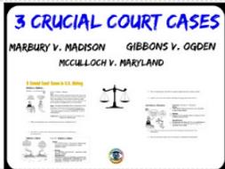 Three Crucial Court Cases