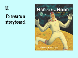 Storyboard Man on the Moon -  A Day in the Life of Bob