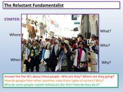 Reluctant Fundamentalist: English Language Paper 1 AQA
