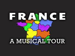 French Geography Video: A Song for France