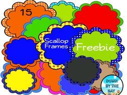 Free --15 Scallop Frames