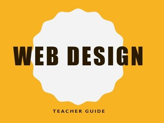 web design, KS2 unit with easy to master software and no need for email addresses