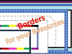 borders to use in your powerpoint resources free by resource creator