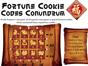 Chinese New Year Maths Investigations KS2