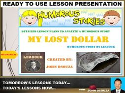 THE LOST DOLLAR: PROSE COMPREHENSION LESSON PRESENTATION