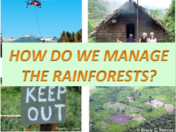 Sustainable Management of the Tropical Rainforest! Ecosystems