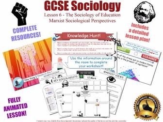 Marxist Views - Education - L6/20 [ WJEC EDUQAS GCSE Sociology]